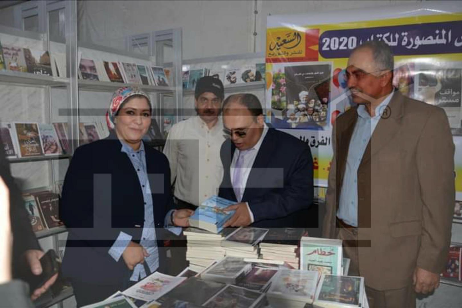 محمود الذكي , رحلة السندباد , معرض الكتاب بالمنصورة