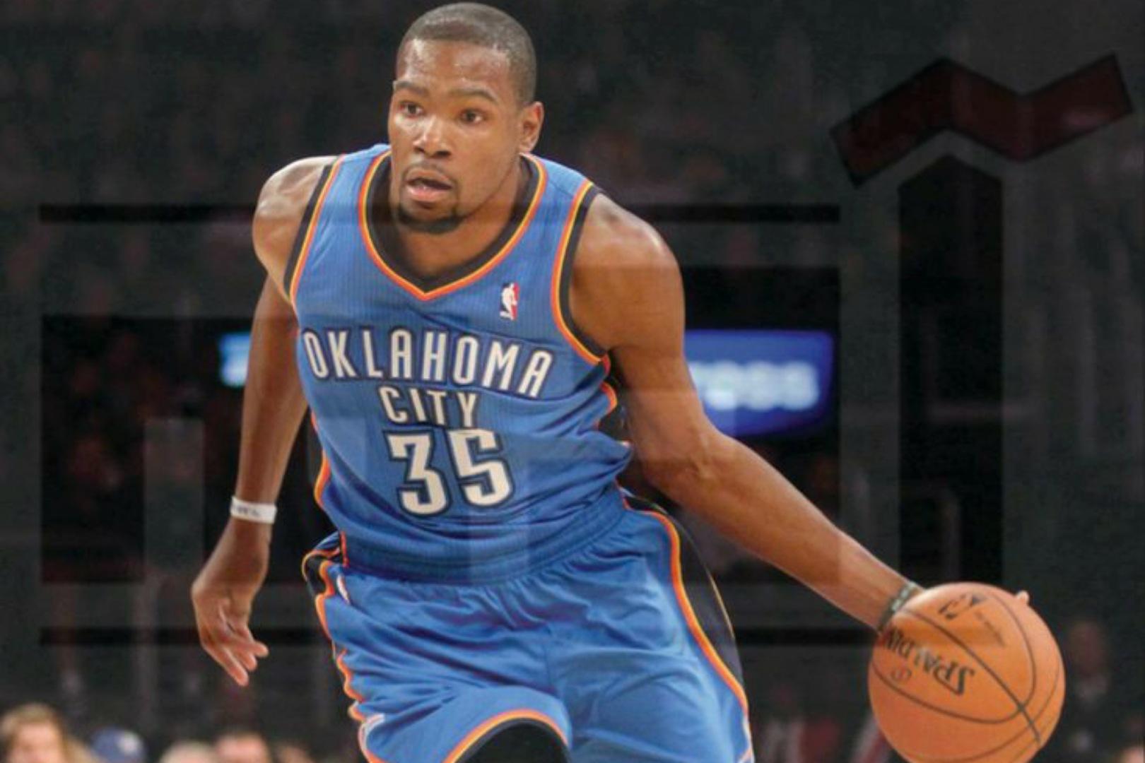 لاعب كرة السلة الأمريكي كيفن دورانت