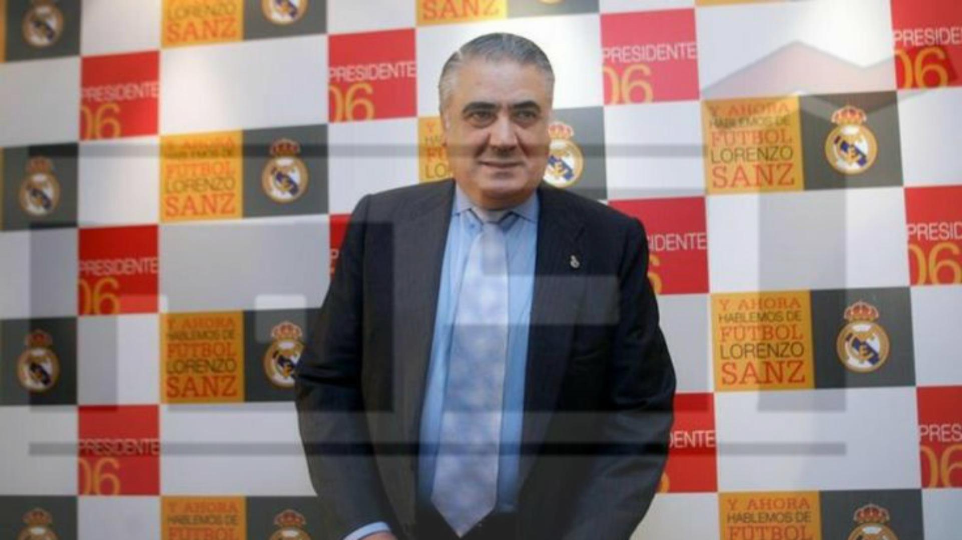 رئيس نادي ريال مدريد الأسبق لورنزو سانز