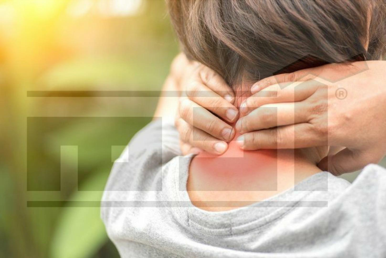آلام الرقبة , أعراض الفيبروميالجيا