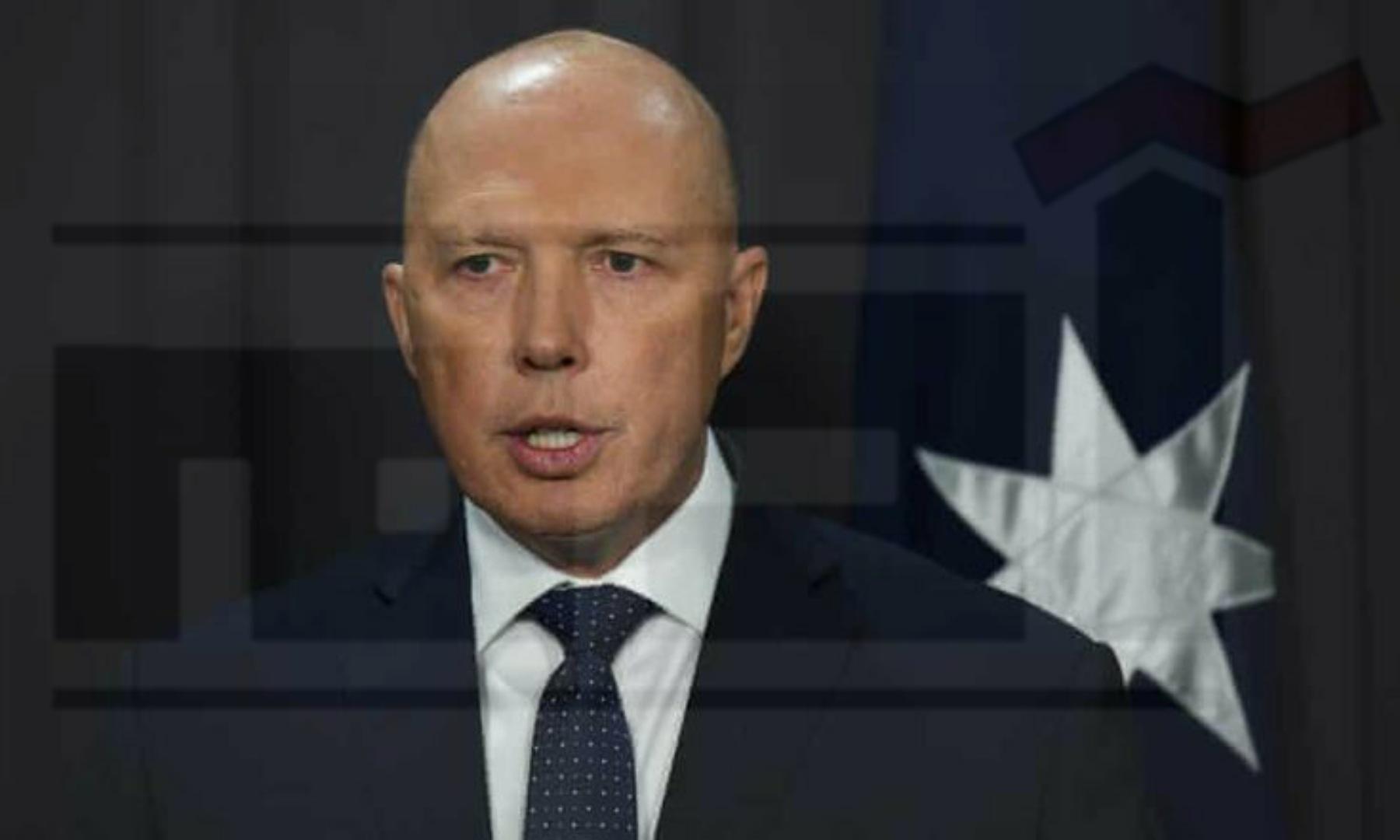 وزير الداخلية الأسترالي بيتر داتون