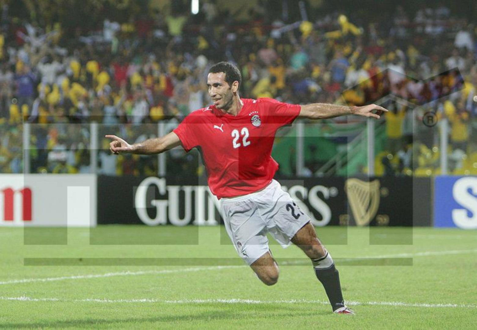 محمد أبو تريكة , بطولة الأمم الأفريقية